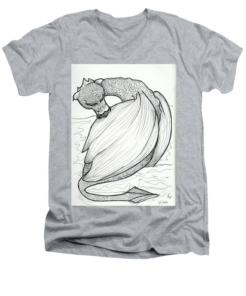 The Itch Men's V-Neck T-Shirt