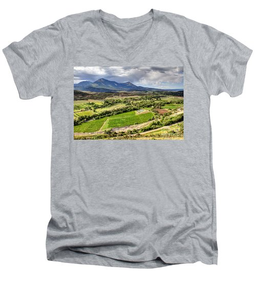 The Jewel Of The North Fork Men's V-Neck T-Shirt