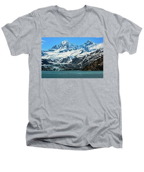 The John Hopkins Glacier Men's V-Neck T-Shirt