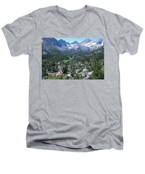 The John Muir Trail Men's V-Neck T-Shirt