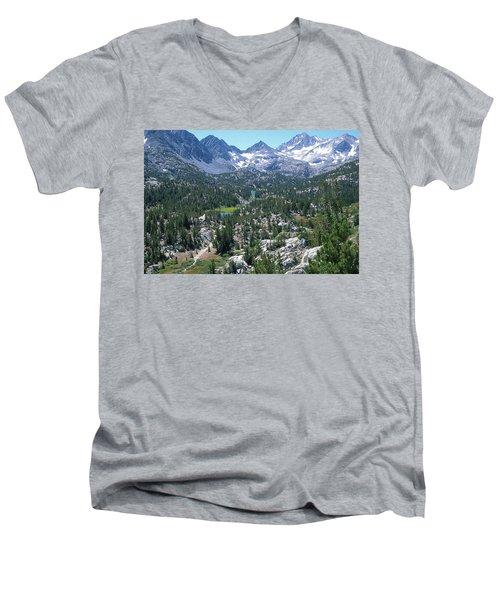 The John Muir Trail Men's V-Neck T-Shirt