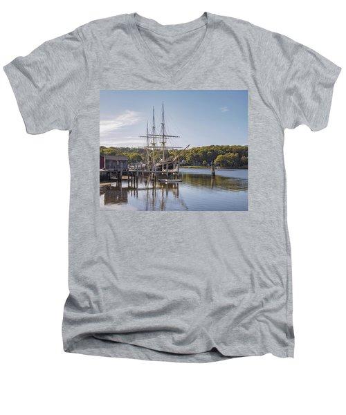 The Joseph Conrad Mystic Seaport Men's V-Neck T-Shirt