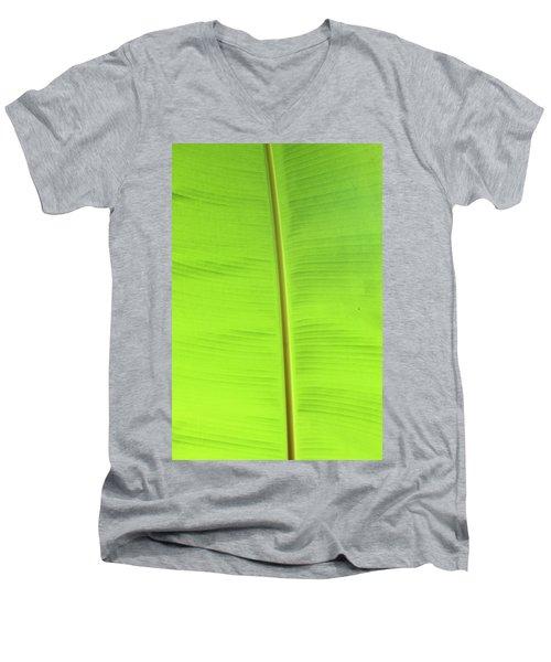 The Jungle Illuminated Men's V-Neck T-Shirt