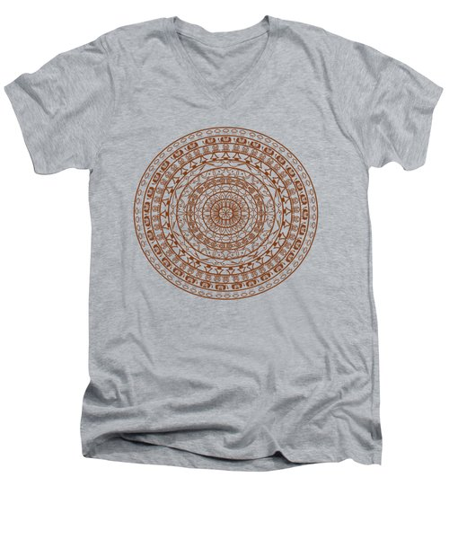 The Jungle Mandala Men's V-Neck T-Shirt