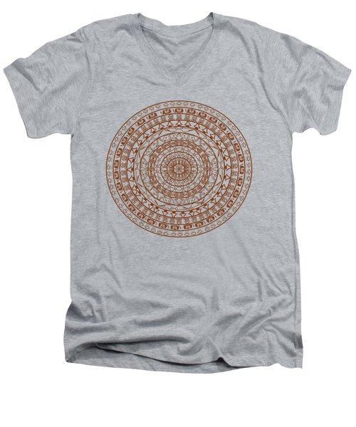 The Jungle Mandala Men's V-Neck T-Shirt