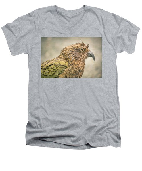 The Kea Men's V-Neck T-Shirt