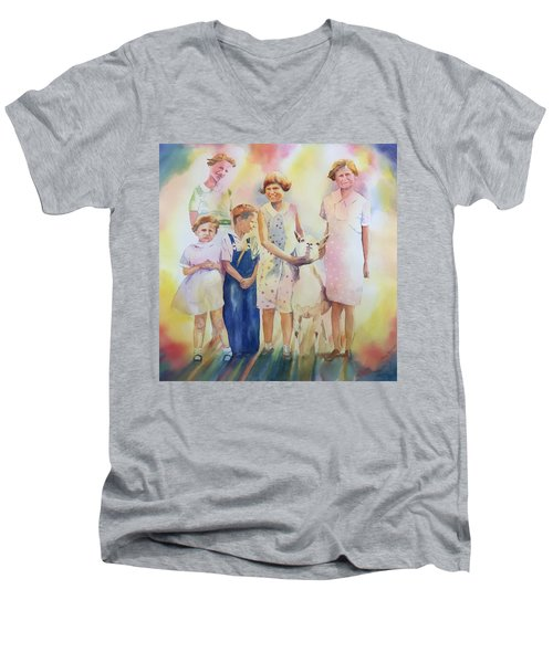 The Kids And The Kid Men's V-Neck T-Shirt