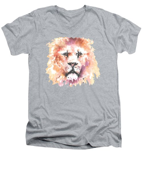 The King T-shirt Men's V-Neck T-Shirt