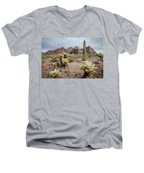 The King Of Arizona National Wildlife Refuge Men's V-Neck T-Shirt