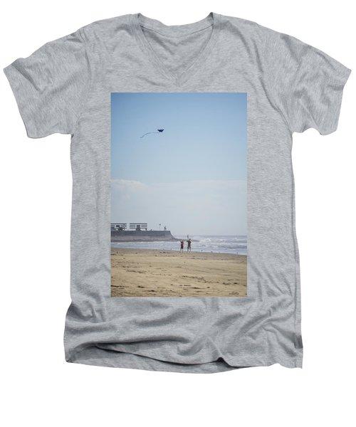 The Kite Fliers Men's V-Neck T-Shirt