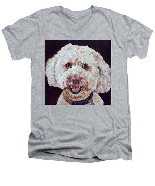The Labradoodle Men's V-Neck T-Shirt