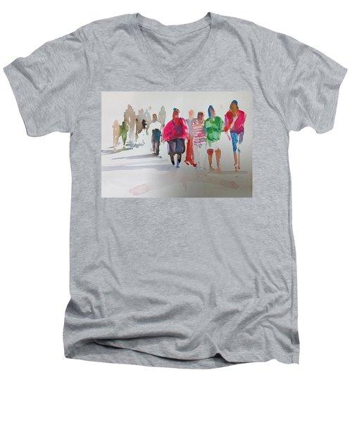 The Ladies Men's V-Neck T-Shirt