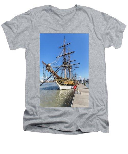 The Lady Washington Men's V-Neck T-Shirt