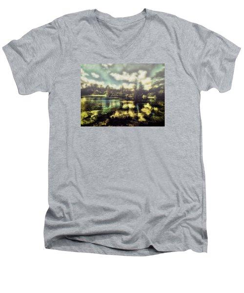 The Lake Men's V-Neck T-Shirt