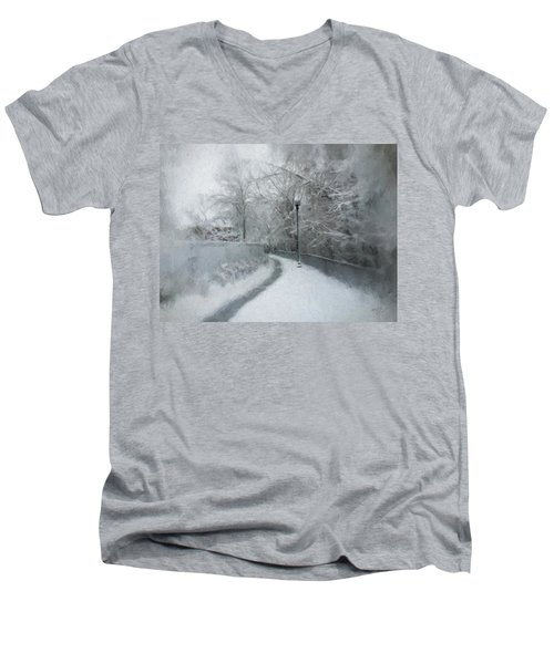 The Lamppost Men's V-Neck T-Shirt