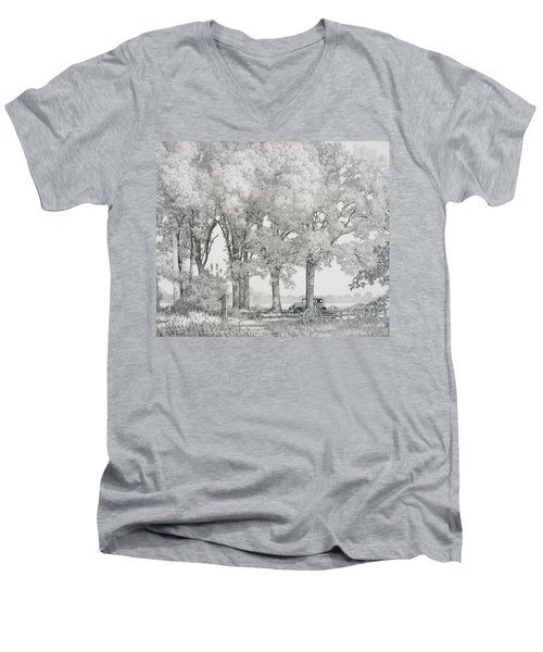 The Land Men's V-Neck T-Shirt