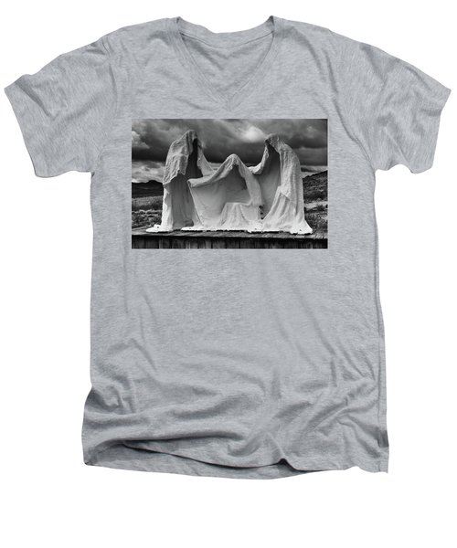 The Last Supper Men's V-Neck T-Shirt