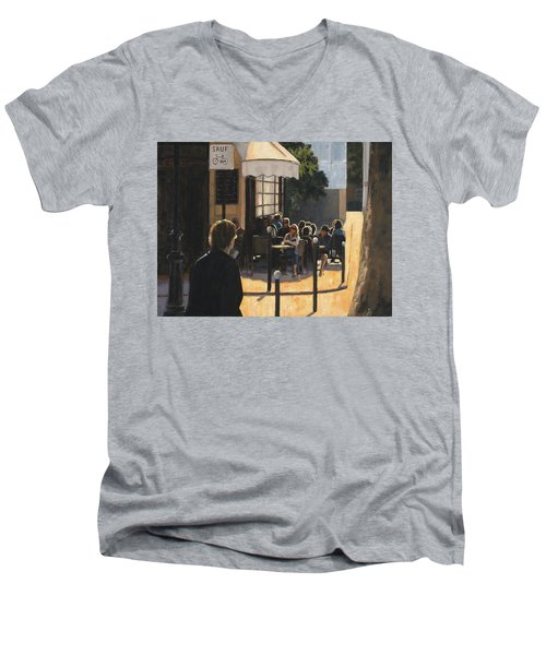 The Latin Quarter Men's V-Neck T-Shirt