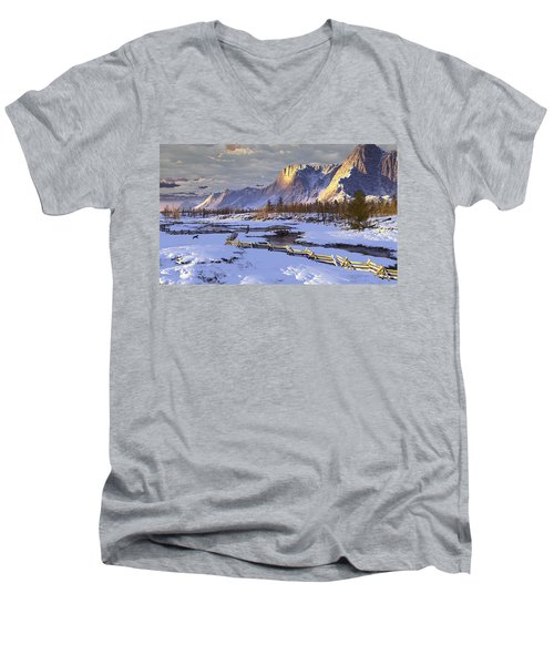 The Life Of Snow Men's V-Neck T-Shirt