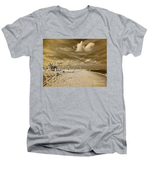 The Lifeguard Stand Men's V-Neck T-Shirt