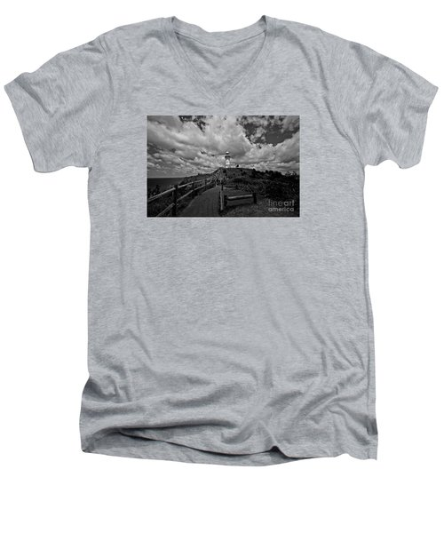 The Light House Men's V-Neck T-Shirt