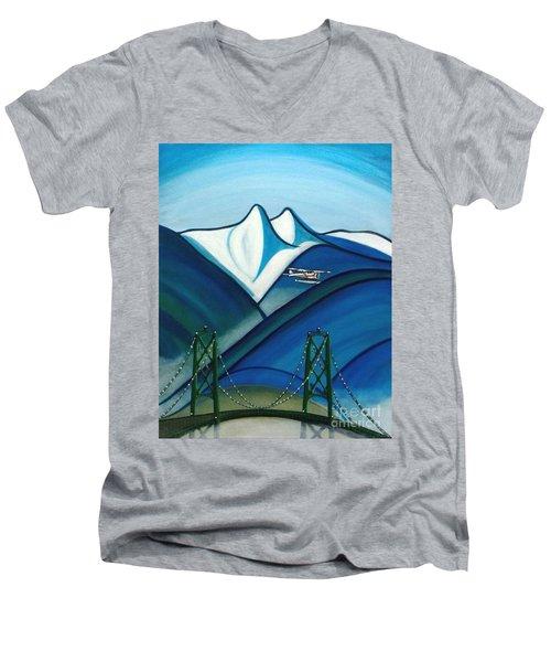The Lions Men's V-Neck T-Shirt