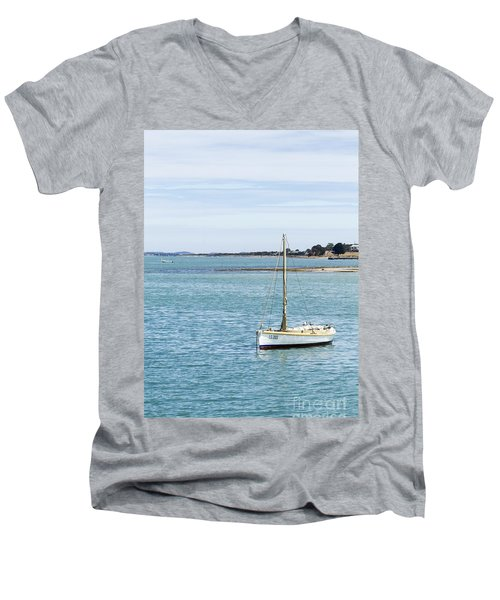 The Little Boat Men's V-Neck T-Shirt