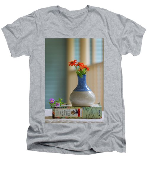 The Little Vase Men's V-Neck T-Shirt