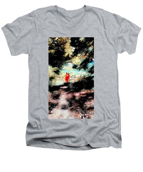 The Little Wood Nymph Men's V-Neck T-Shirt