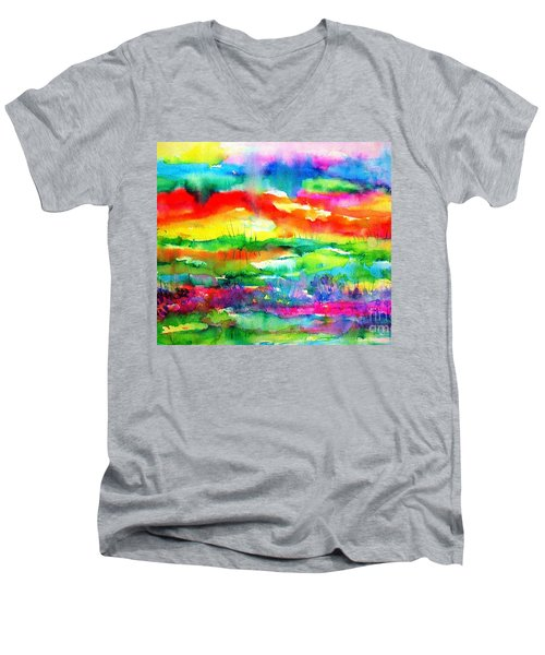 The Living Desert Men's V-Neck T-Shirt