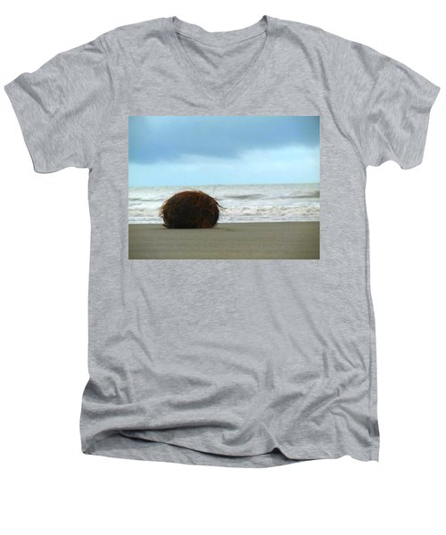 The Lonely Coconut Men's V-Neck T-Shirt