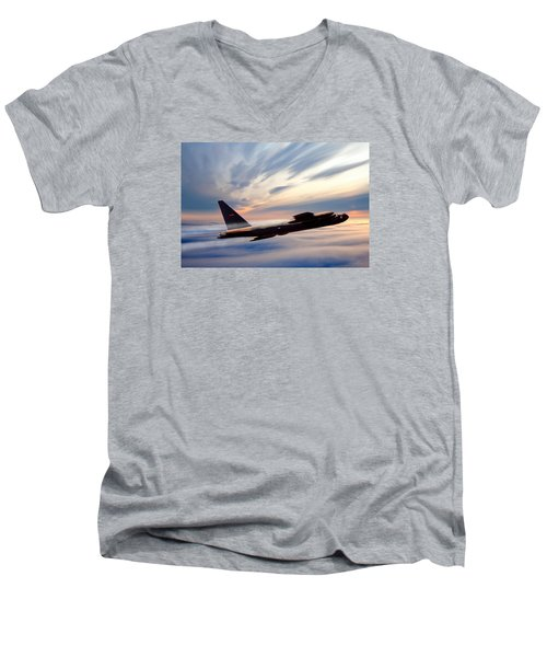 The Long Goodbye Men's V-Neck T-Shirt by Peter Chilelli