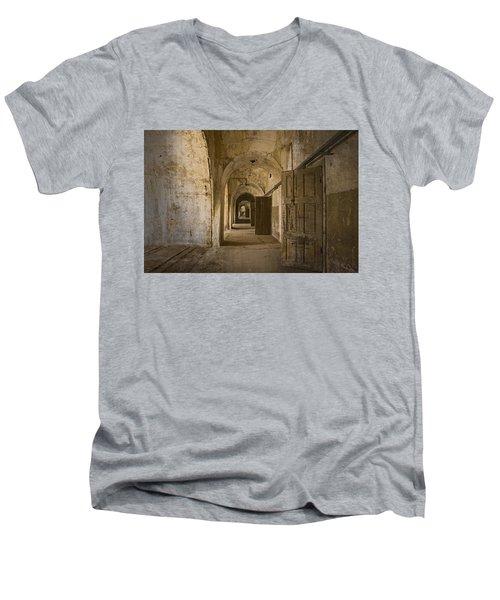The Long Hall Men's V-Neck T-Shirt