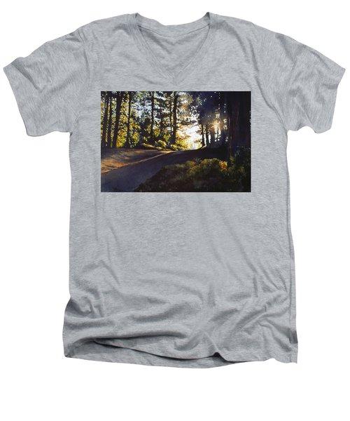 The Long Way Home Men's V-Neck T-Shirt