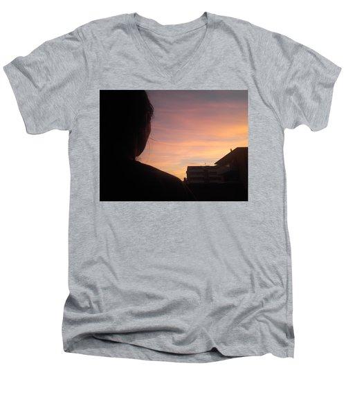 Roxana The Love Of My Life Men's V-Neck T-Shirt