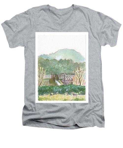 The Luberon Valley Men's V-Neck T-Shirt