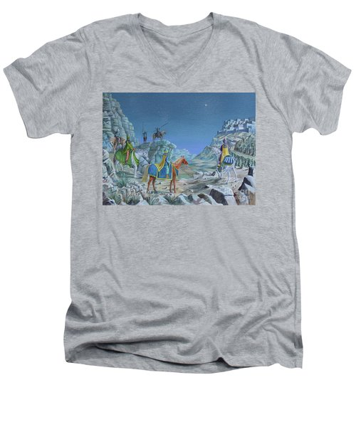 The Magi Men's V-Neck T-Shirt