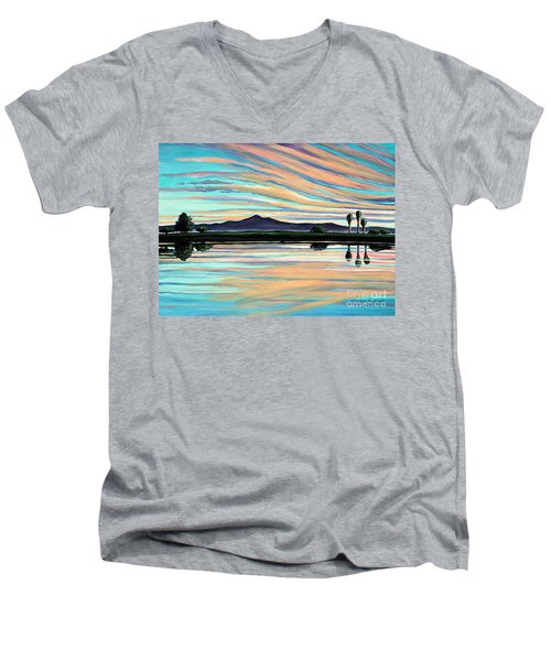 The Magic Is In The Water Men's V-Neck T-Shirt