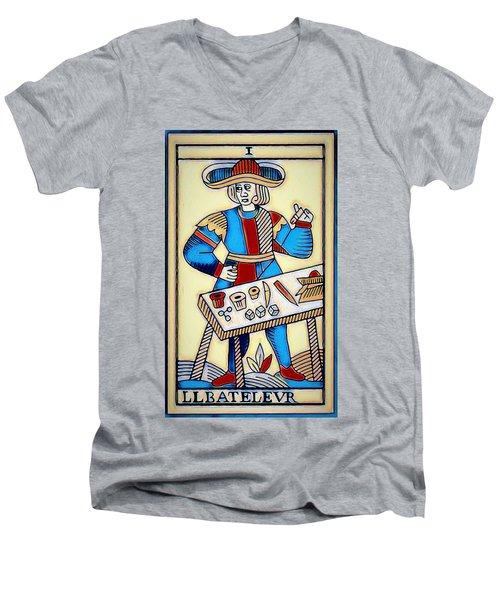 The Magician Men's V-Neck T-Shirt