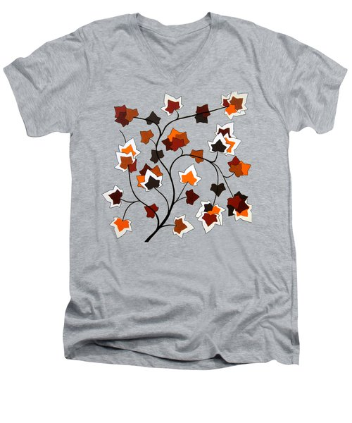 The Magnolia House Rules Remix Men's V-Neck T-Shirt by Oliver Johnston