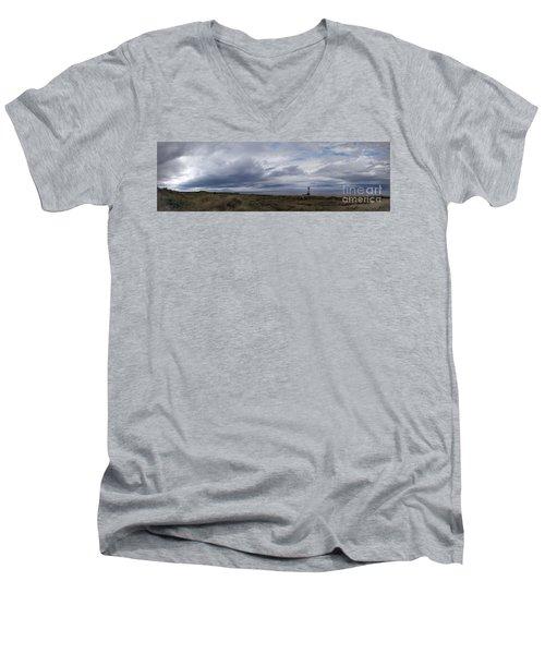 The Main View Men's V-Neck T-Shirt