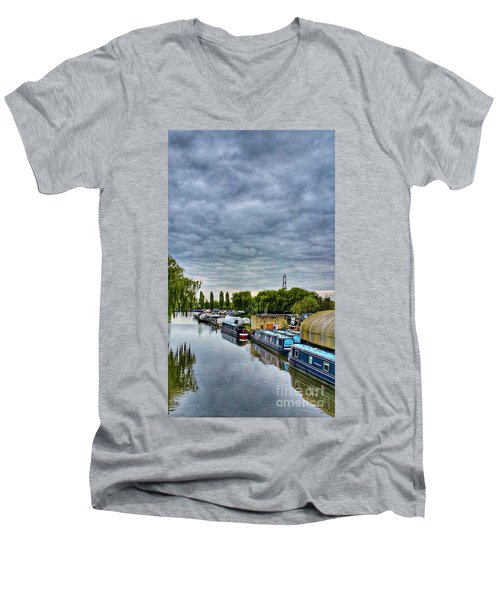 The Marina Men's V-Neck T-Shirt