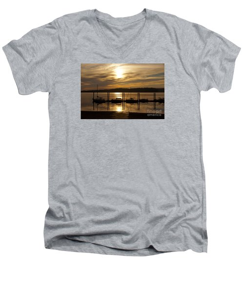 The Marina Men's V-Neck T-Shirt