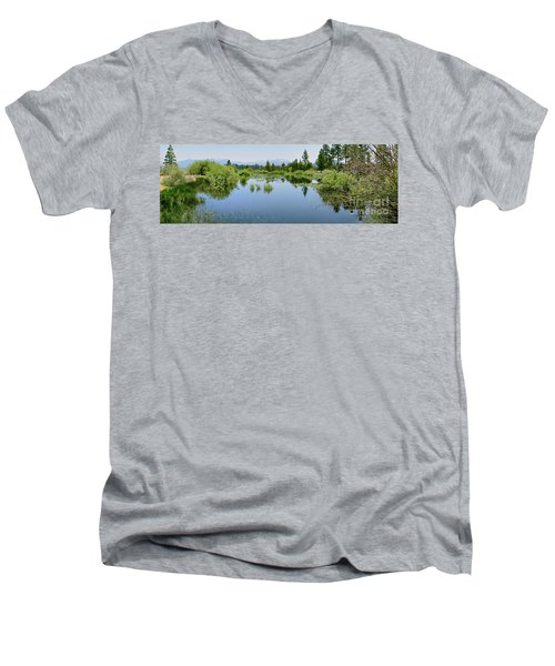 The Marsh Men's V-Neck T-Shirt