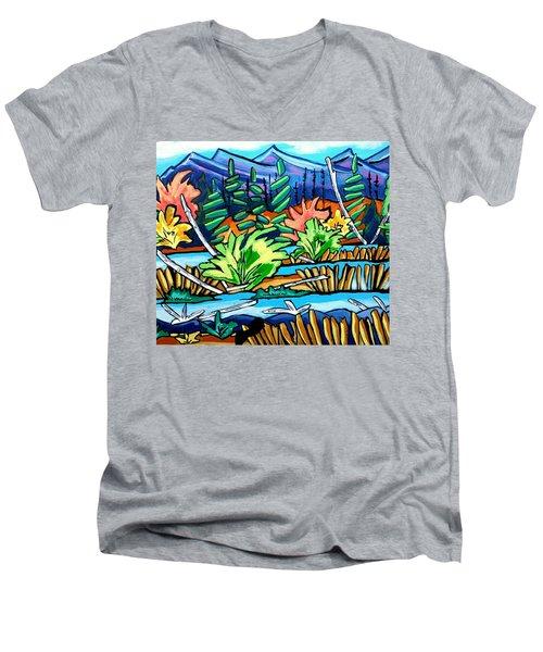 The Marsh Men's V-Neck T-Shirt