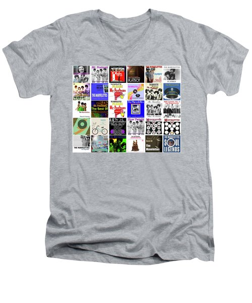The Marvelettes 2 Men's V-Neck T-Shirt