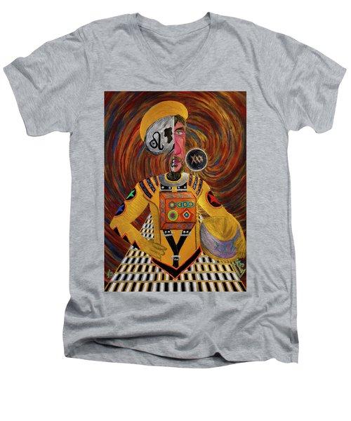 The Mastermind Men's V-Neck T-Shirt