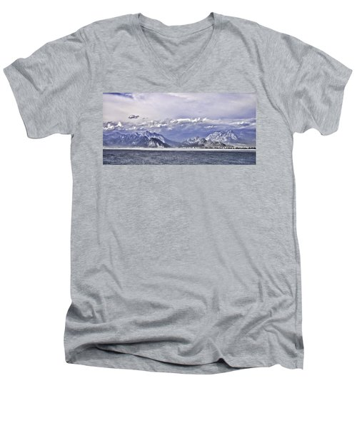 The Mediterranean Coast Men's V-Neck T-Shirt