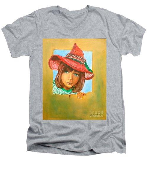The Mexican Hat Men's V-Neck T-Shirt