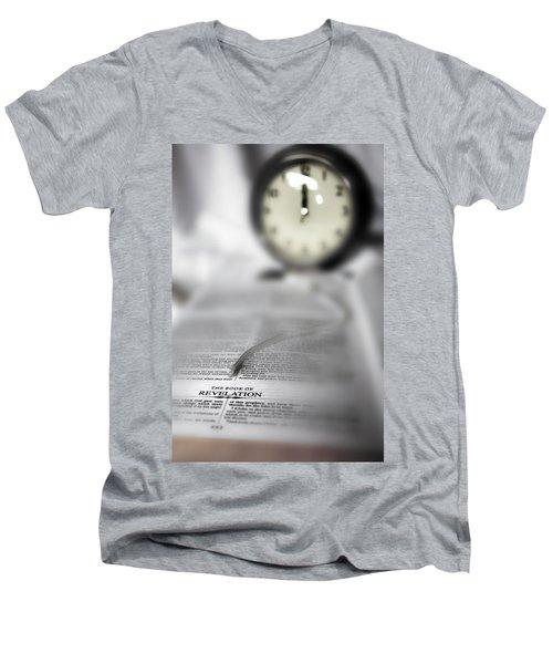 The Midnight Cry Men's V-Neck T-Shirt